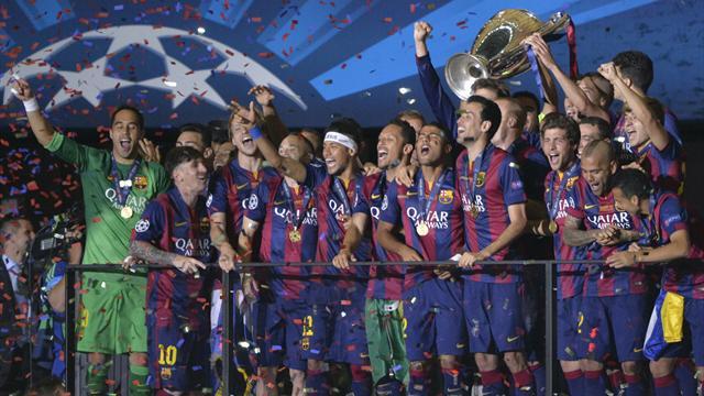 برشلونة يتوج بلقبه الخامس في دوري أبطال أوروبا